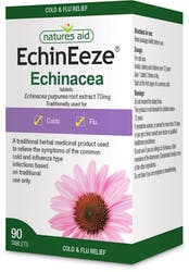 Natures Aid Echineeze (Echinacea) 90 Tablets