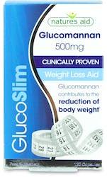 Natures Aid GlucoSlim Glucomannan 500mg Weight Loss aid 120 Capsules