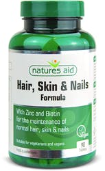 Natures Aid Hair, Skin and Nails Formula 90 Tablets