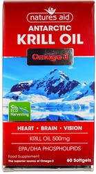 Nature's Aid Krill Oil 500mg 60 Capsules