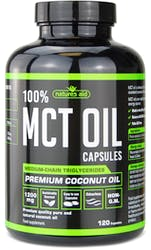 Natures Aid MCT Oil 120mg 120 Capsules