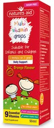 Natures Aid Multi-Vitamin Drops for children 50ml