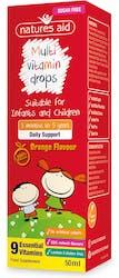 Nature's Aid Multi-Vitamin Drops for children 50ml