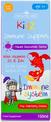 Nature's Aid Natural Nature's Kidz Immune Liquid 150ml