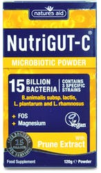 Natures Aid NutriGUT-C (15 Bill Bac) 120g Powder