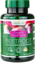 Natures Aid Organic Beetroot 462mg 60 Capsules