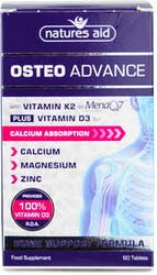 Natures Aid Osteo Advance 60 Tablets