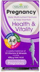 Natures Aid Pregnancy Multi-Vitamins & Minerals 60 Tablets