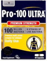 Nature's Aid Pro 100 Ultra (100 Bill Bac) 30 Capsules