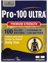 Natures Aid Pro 100 Ultra (100 Bill Bac) 30 Capsules