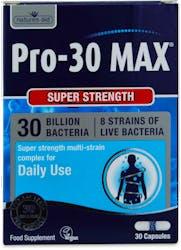 Natures Aid Pro-30 MAX (30 Bill Bac) 30 Vcaps