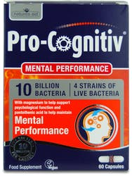 Natures Aid Pro-Cognitiv (10 Bill Bac) 60 Capsules