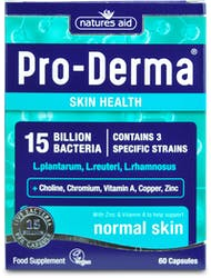 Natures Aid Pro-Derma (15 Bill Bac) 60 Capsules