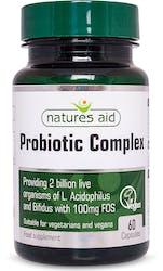Natures Aid Probiotic Complex  60 Capsules
