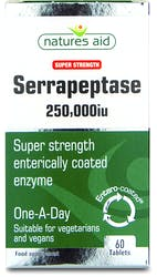 Natures Aid Serrapeptase 250,000iu 60 Tablets