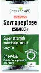 Natures Aid Serrapeptase 250,000iu 60 Tablets