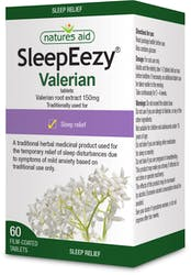Natures Aid SleepEezy (Valerian) 60 Tablets