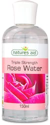 Natures Aid Triple Strength Rose Water 150ml