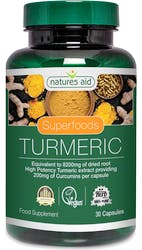 Natures Aid Turmeric 8200mg (High Potency) 30 Capsules