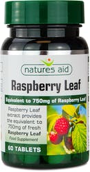 Natures Aid Vegan Raspberry Leaf 375mg 60 tablets
