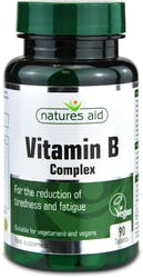 Natures Aid Vitamin B Complex   90 Tablets