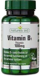 Nature's Aid Vitamin B1 Thiamin 100 mg 90 Tablets