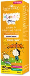 Nature's Aid Vitamin C Drops for children 50ml
