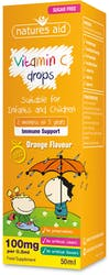 Natures Aid Vitamin C Drops for children 50ml