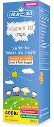 Nature's Aid Vitamin D3 Drops for children 50ml