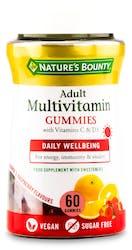 Nature's Bounty Adult Multivitamin 60 Gummies
