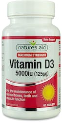 Natures's Aid Vitamin D3 60 Tablets