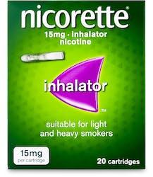 Nicorette 15mg Inhalator 20 Cartridges