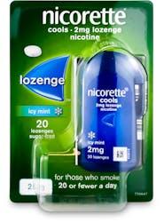 Nicorette Cools 2mg Lozenges 20 Pack