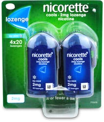 Nicorette Cools Lozenge Mint 2mg  80 Lozenges