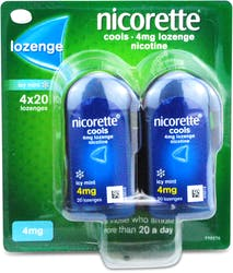 Nicorette Cools Lozenge Mint 4mg  80 Lozenges