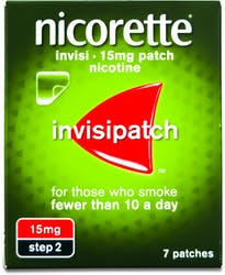 Nicorette Invisipatch Step 2 (15mg) 7 Patches