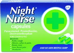 Night Nurse Capsules 10 Capsules