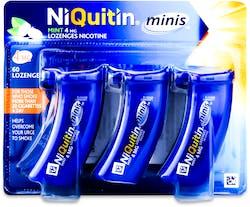 NiQuitin Minis Mint 4mg 60 Lozenges