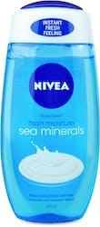 Nivea Caring Shower Gel Fresh Moisture Sea Minerals 250ml