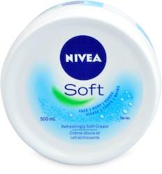 Nivea Cream Soft Moisturiser 500ml