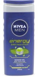 Nivea for Men Energy Shower Gel 250ml