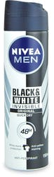 Nivea Men Black & White Original Anti-Perspirant Deodorant Spray 150ml