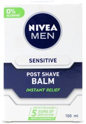 Nivea Men Sensitive Post Shave Balm 0% Alcohol 100ml