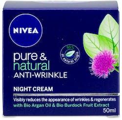 Nivea Pure and Natural Anti-Wrinkle Night Cream 50ml