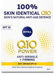 Nivea Q10 Power Anti-Wrinkle+ Firming Day Cream SPF15 50ml