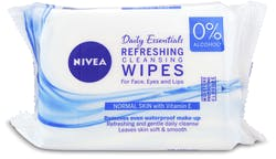 Nivea Refreshing Facial Cleansing Wipes 25pcs