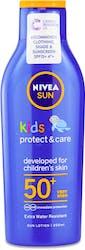 Nivea Sun Kids Protect & Care Sun Lotion SPF 50+ 200ml