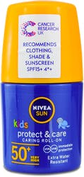 Nivea Sun Kids Protect and Moisture Roll On SPF 50 50ml