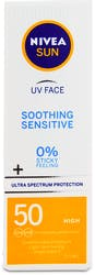 Nivea Sun Soothing Sensitive Face Cream SPF50 50ml