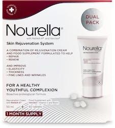 Nourella Skin Rejuvenation System Dual Pack -60 Tablets + 50ml Cream